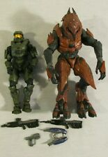 McFarlane Toys Halo Figure lot Master Chief + Accessories