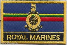 Royal Marines Flag Embroidered Patch Badge