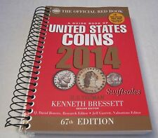 Official Red Book: A Guide Book of United States Coins 67th Ed 2014 Spiral Bound