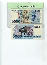 WORLD BANK NOTE - 5000C BRASIL UNC NICE NO.A574702155A # B162
