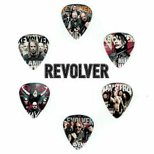 6 Pack REVOLVER MAGAZINE ROCK METAL THRASH Medium Gauge 351 Picks Plectrum