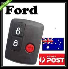 ford 3 button remote key case shell for ford territory Ba bf focus FG falcon