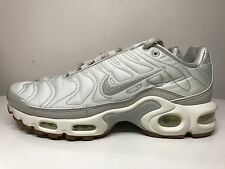 Nike Air Max Plus Premium Trainers Tuned TN UK 4.5 EUR 38 Light Bone 848891 002
