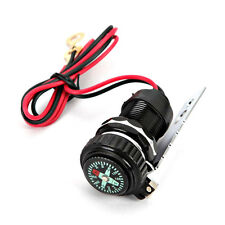 Motorcycle B USB Charger Compass For Suzuki V-Strom Vstrom 650