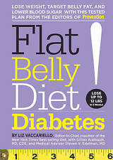 Flat Belly Diet! Diabetes by Liz Vaccariello (Hardback, 2011) RRP $39.99