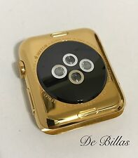 24 KARAT GOLD 42MM Apple Watch Stainless Steel Custom, BODY ONLY
