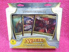 ITALIAN Magic MTG Factory Sealed C11 2011 Commander Heavenly Inferno Deck EDH IT