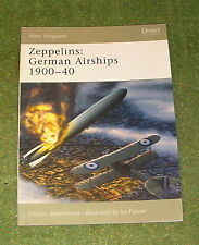 OSPREY MILITARY NEW VANGUARD 101 ZEPPELINS GERMAN AIRSHIPS 1900-40
