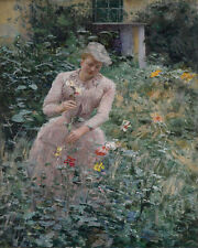 In The Garden Emile Claus  24'  CANVAS