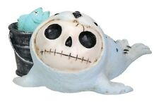 NEW Furrybones Furry Bones Rollie Seal Baby Skull Skeleton Figurine Gift 7602