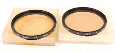 Hasselblad Bay 60 81A & 81C Warming/Color Correction Filters - EX+