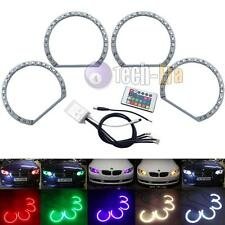 Xenon Headlight RGB Multi-Color LED Angel Eyes Kit For BMW E38 E39 E46 3 5 7,etc