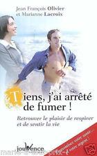 Livre TIENS J'AI ARRETE DE FUMER neuf COMMENT ARRETER techniques anti tabac