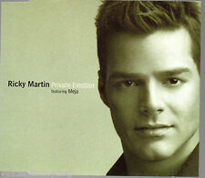RICKY MARTIN - PRIVATE EMOTION (2 tracks plus cd-rom video, CD single)