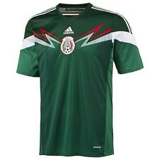 NEW ADIDAS MEXICO SOCCER JERSEY MENS SMALL FUTBOL G86985 MEXICAN NATIONAL 2014