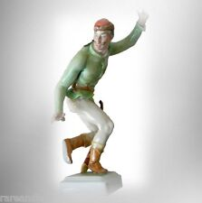 Herend large figurine of dancing swordsman - colorful costume FREE SHIPPING