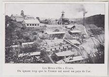 1910  --  LE MINES D OR A EVAUX   3J788