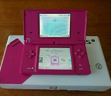 Nintendo DSi Launch Edition Pink Handheld System. Nice, Clean, tested, Orig. Box