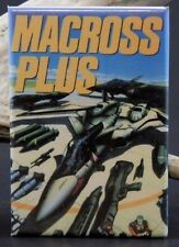 "Macross Plus Movie Poster - 2"" X 3"" Fridge /Locker Magnet. Japanese Animation"
