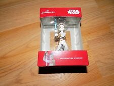 Hallmark Disney Star Wars The Force Awakens Rey 2016 Christmas Holiday Ornament