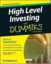 High Level Investing  for Dummies by Paul Mladjenovic PB STOCKS DAY TRADING NEW!