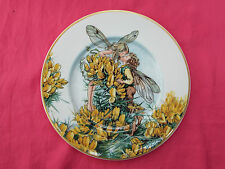 VILLEROY & BOCH Fairies Of Field & Flowers Cicely Mary Barker Plate GORSE