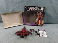 Thrust Figure w/Box G1 Transformers 1985
