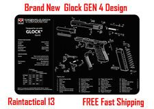 For Glock 23 GEN 4 Tek Mat Armorers Bench Cleaning Mat NEW ! FREE SHIPPING