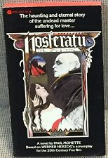 Paul Monette Nosferatu the Vampyre Movie Tie-in