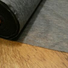Light weight fusible iron on interfacing CHARCOAL (for black ) sold by the metre