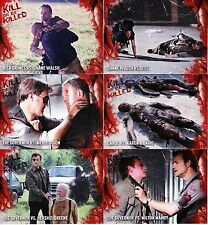 The Walking Dead Survival Box - Kill or Be Killed Chase Trading Card Set