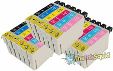 18 T0801-6 / T0807 non-OEM Cartouches d'encre Colibri Fits Epson Stylus RX560