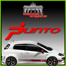 Fiat Abarth Grande Punto Scorpione 500 Strisce Laterali Adesivo Adesivi Laterali