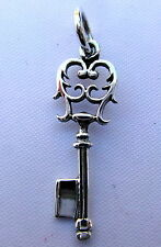 Sterling Silver (925)  Key Of  Life   Pendant    !!       Brand  New  !!