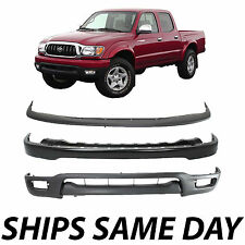 New Complete Steel Front Bumper Air Deflector Combo Kit  2001-2004 Toyota Tacoma