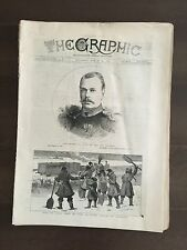 """""""THE GRAPHIC"""" (A Beautifully Illustrated British Weekly Newspaper)-Mar. 19, 1881"""