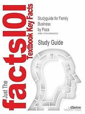 Studyguide for Family Business by Poza, ISBN 9780324261516 (Cram101 Textbook Out