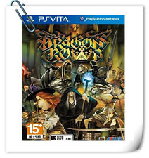 PSV SONY VITA Games Dragon's Crown 魔龍寶冠 中文 英文 日文 Atlus RPG