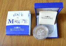 FRANCIA MONNAIE DE PARIS confezione ufficiale MONETA 1,5 EURO 2003 ARGENTO PROOF