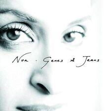 NOA - GENES & JEANS - CD SINGLE PROMO  POCHETTE ACETATE 2 TItres 2008