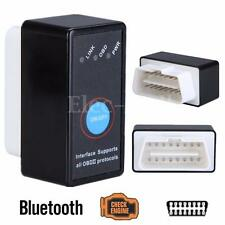 Mini Bluetooth ELM327 V2.1 OBD2 Interface CAN-BUS Diagnostic Car Scanner +Switch
