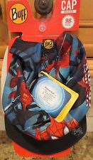 NEW Marvel Spiderman Boys Buff's Reversible Sun Hat with UV Protection- NWT