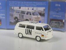 NEU: Wiking C&I Sondermodell UN Edition Nr. 4: VW T3 Bundeswehr Militär Polizei