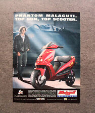 [GCG] L346- Advertising Pubblicità -1996-  PHANTOM MALAGUTI,TOP GUN TOP SCOOTER