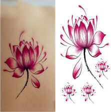 small Wrist Ankle Temporary Tattoo Waterproof Removable Lotus Stickers Body Art