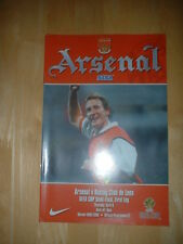 1999/2000 ARSENAL V RACING CLUB DE LENS - UEFA CUP SEMI-FINAL