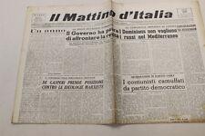 Il Mattino d'Italia  25 aprile 1946 eroismo Brigata Biancardi