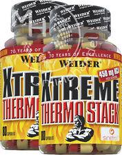 Weider Xtreme Thermo Stack (21 €/100g) 2x 80 capsule! prezzo martello!