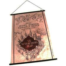 Harry Potter - Marauders Map Fabric Wall Scroll - New & Official Warner Bros