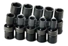 SK Hand Tools 33351 10 Piece 6 Point Swivel Metric Impact Socket Set